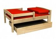 Rostoucí postel